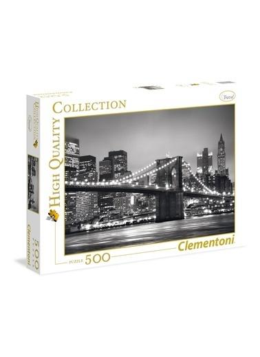 Clementoni Clementoni 500 Parça Puzzle New York Renkli